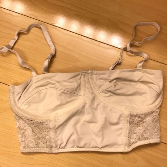764967fd4cc6d PINS   NEEDLES LACE FITTED BRALETTE Bustier